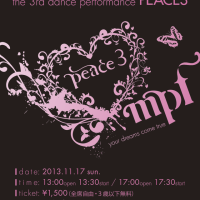 "dance studio MPF 発表会 ""PEACE3"""