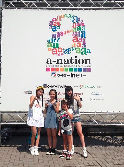 a-nation 2013 東京 アクトダンサー
